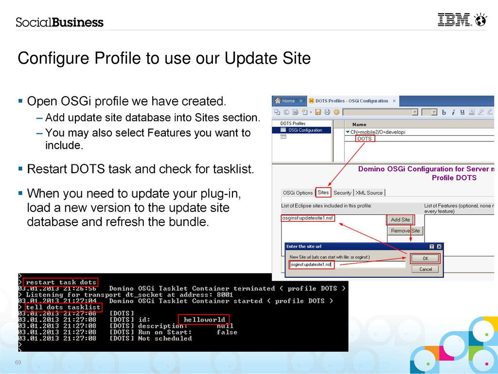 Configure Profile to use our Update Site Open O...