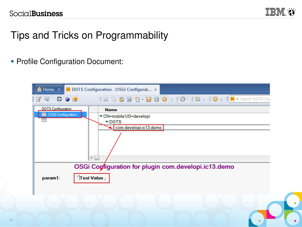 Tips and Tricks on Programmability Profile Conf...
