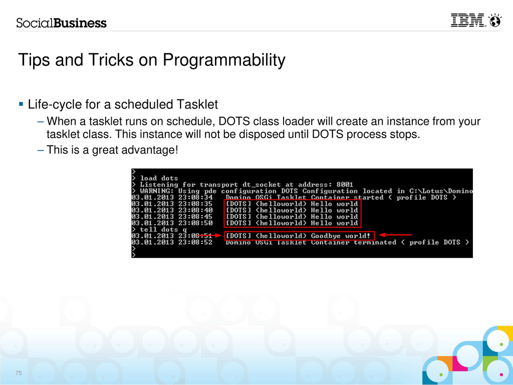 Tips and Tricks on Programmability Life-cycle f...