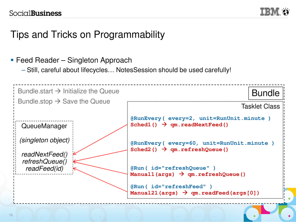 Tips and Tricks on Programmability Feed Reader ...