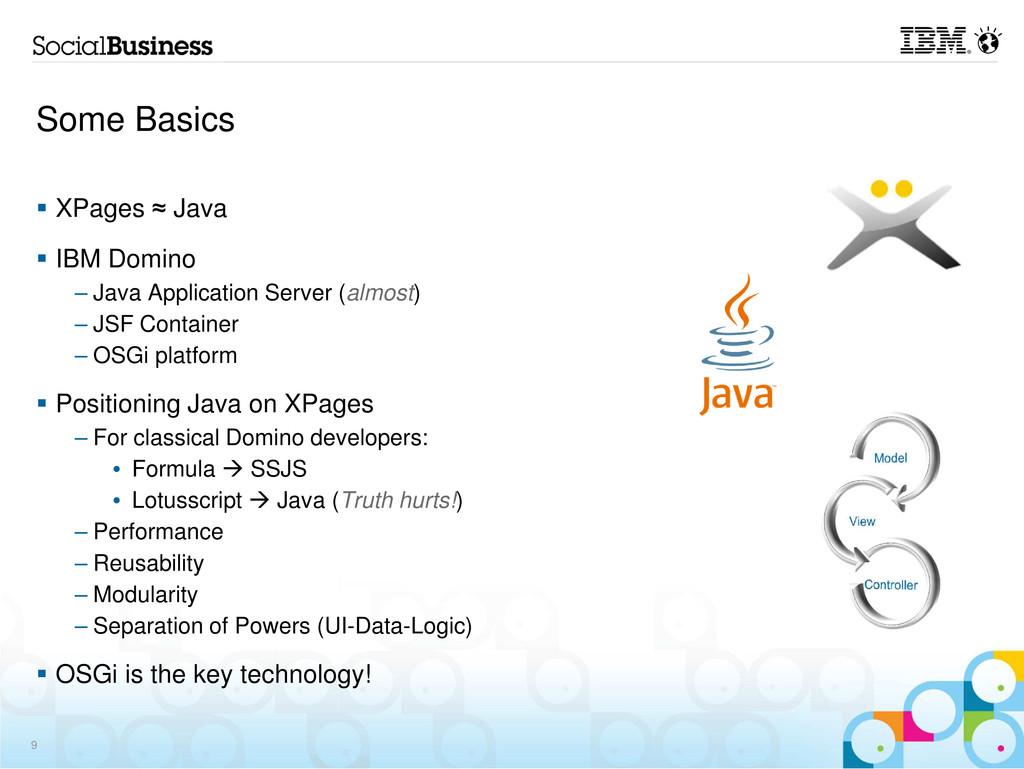 Some Basics XPages ≈ Java IBM Domino – Java App...