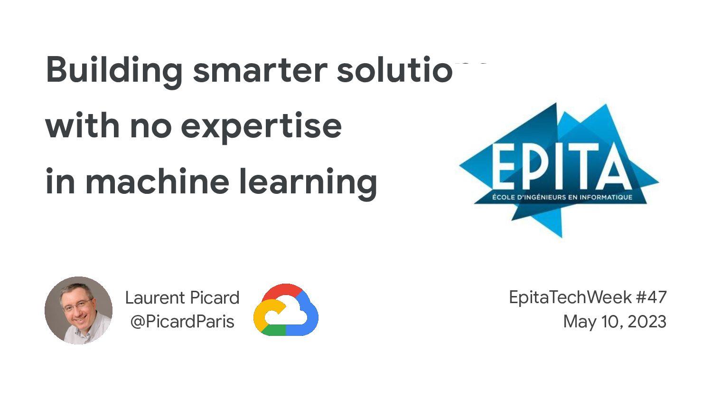 Who are we? ○ Developer Advocate ‒ Google Cloud...