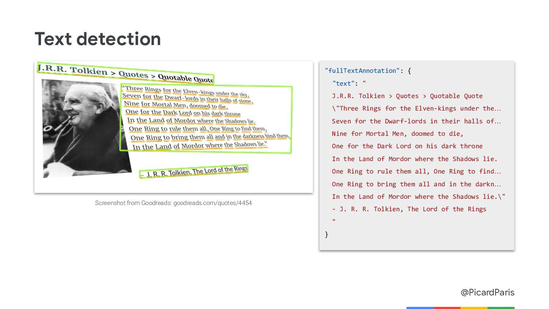 "@PicardParis Handwriting detection ""fullTextAnn..."