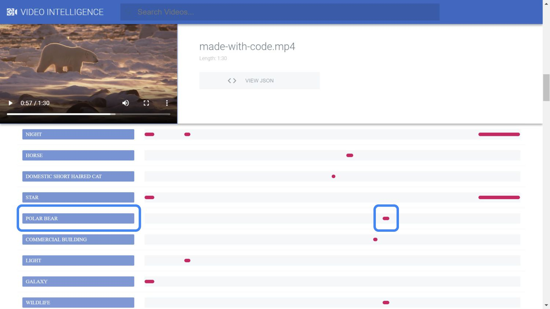 Demo - Video Intelligence API