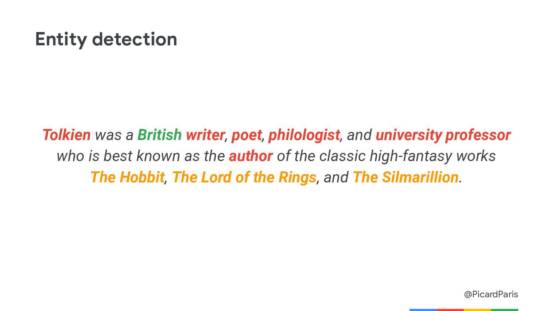 @PicardParis Content classification Tolkien was...