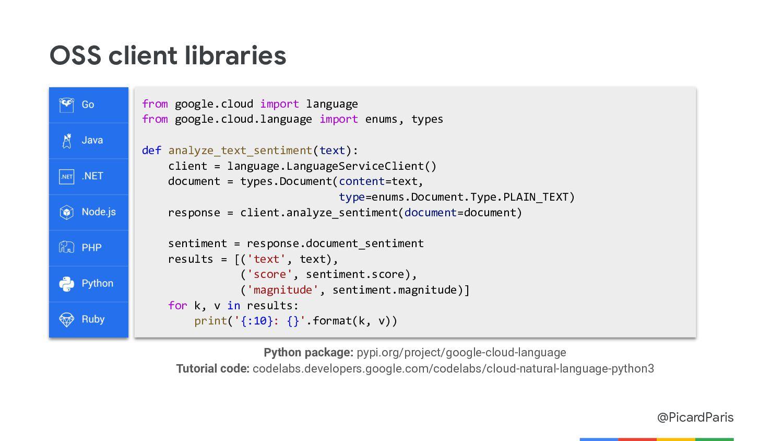 @PicardParis Translation API Translate Many Lan...