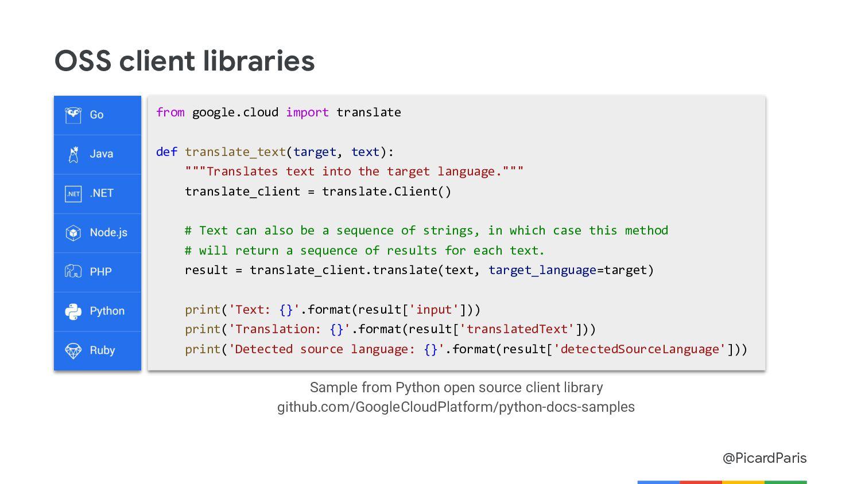 @PicardParis Text-to-Speech API Generate natura...