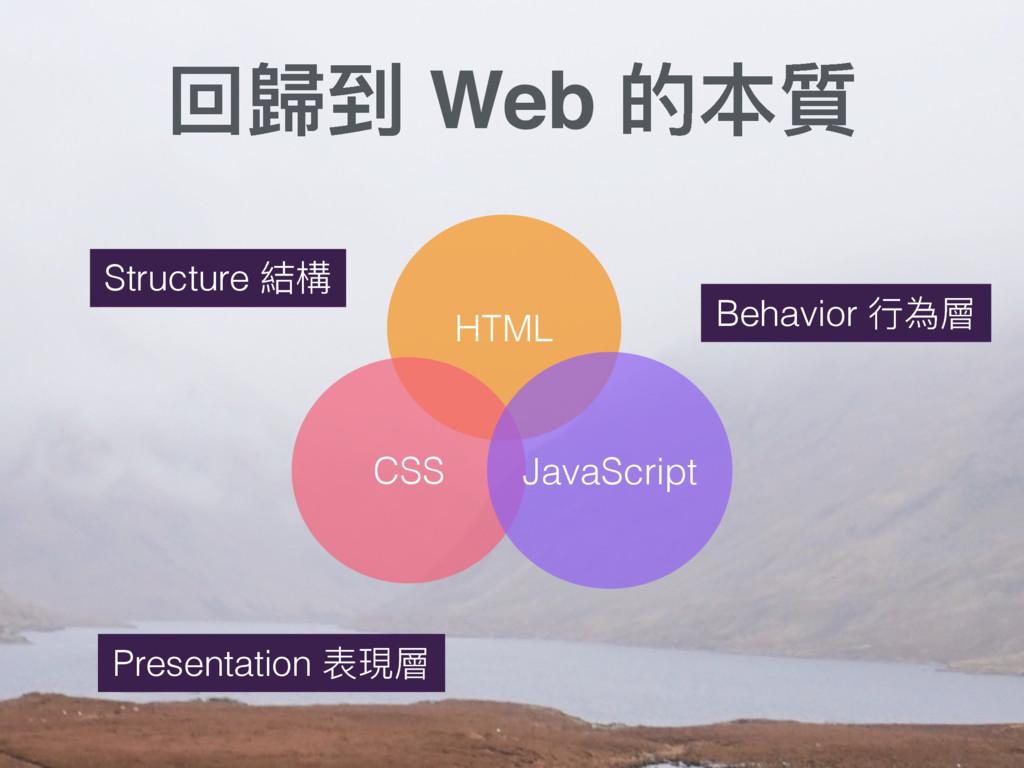 ࢧ稳ک Web ጱ搡 Structure 奾䯤 HTML CSS JavaScript Pr...
