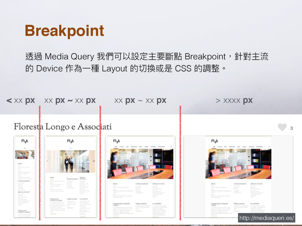 Breakpoint 蝚螂 Media Query ౯㮉ݢ犥戔ਧԆᥝ䥁讨 Breakpoint...