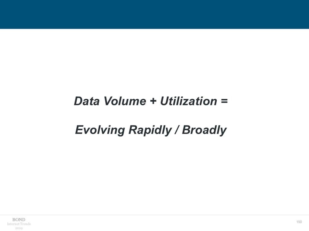 150 Internet Trends 2019 Data Volume + Utilizat...