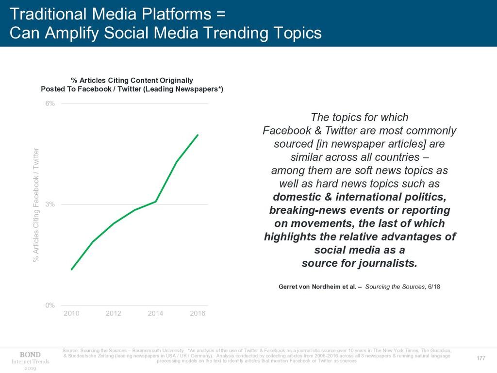 177 Internet Trends 2019 Traditional Media Plat...