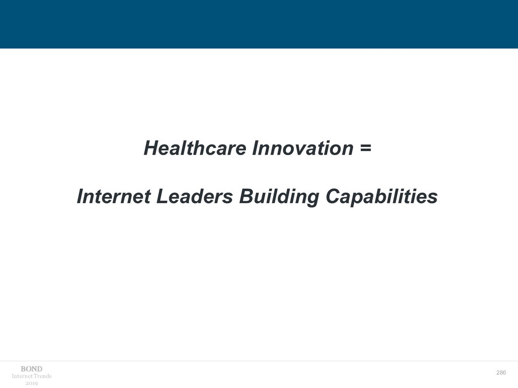 286 Internet Trends 2019 Healthcare Innovation ...