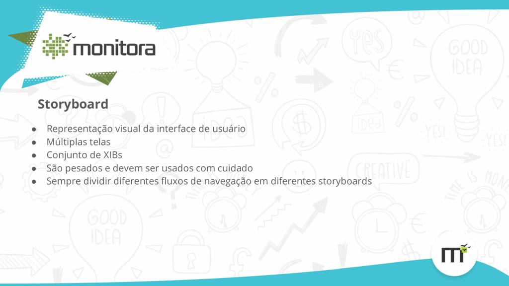 ● Representação visual da interface de usuário ...