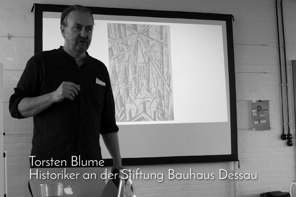 Torsten Blume Historiker an der Stiftung Bauhau...