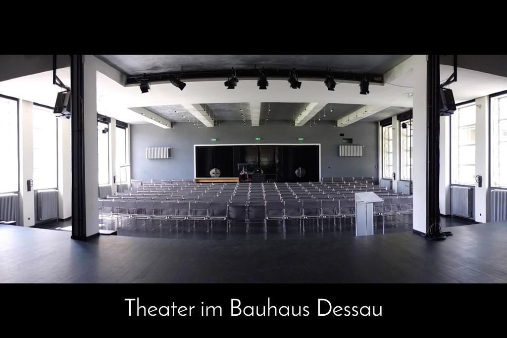 Theater im Bauhaus Dessau
