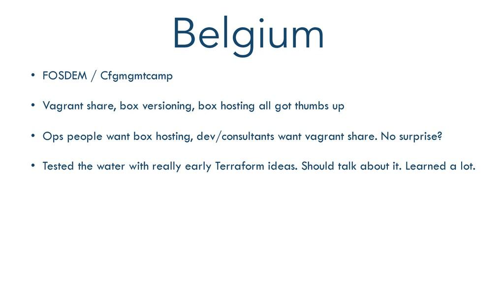 Belgium THIS WEEK $9,073 98 Orders • FOSDEM / C...