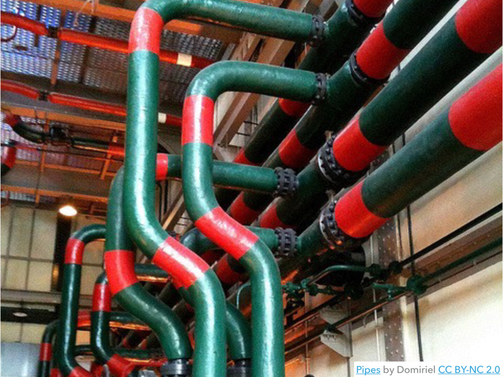 Pipes by Domiriel CC BY-NC 2.0