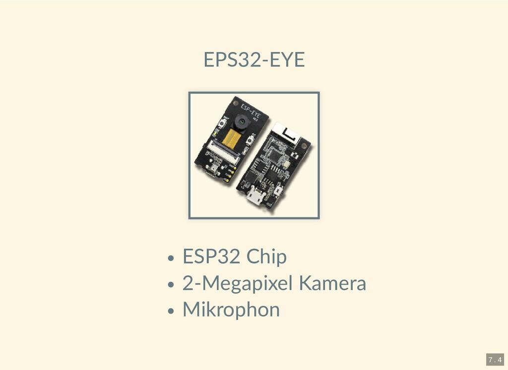 EPS32-EYE ESP32 Chip 2-Megapixel Kamera Mikroph...