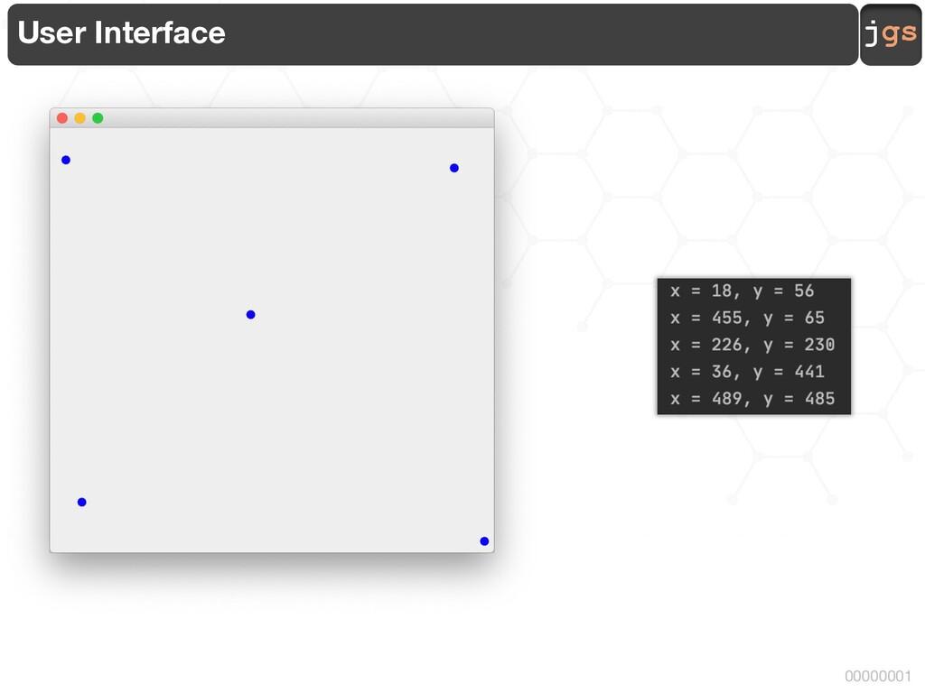 jgs 00000001 User Interface