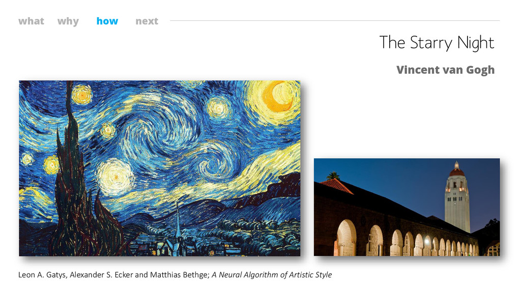 what why how next The Starry Night Vincent van ...