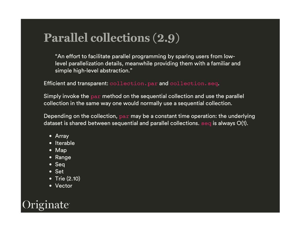 collection.par collection.seq par par seq