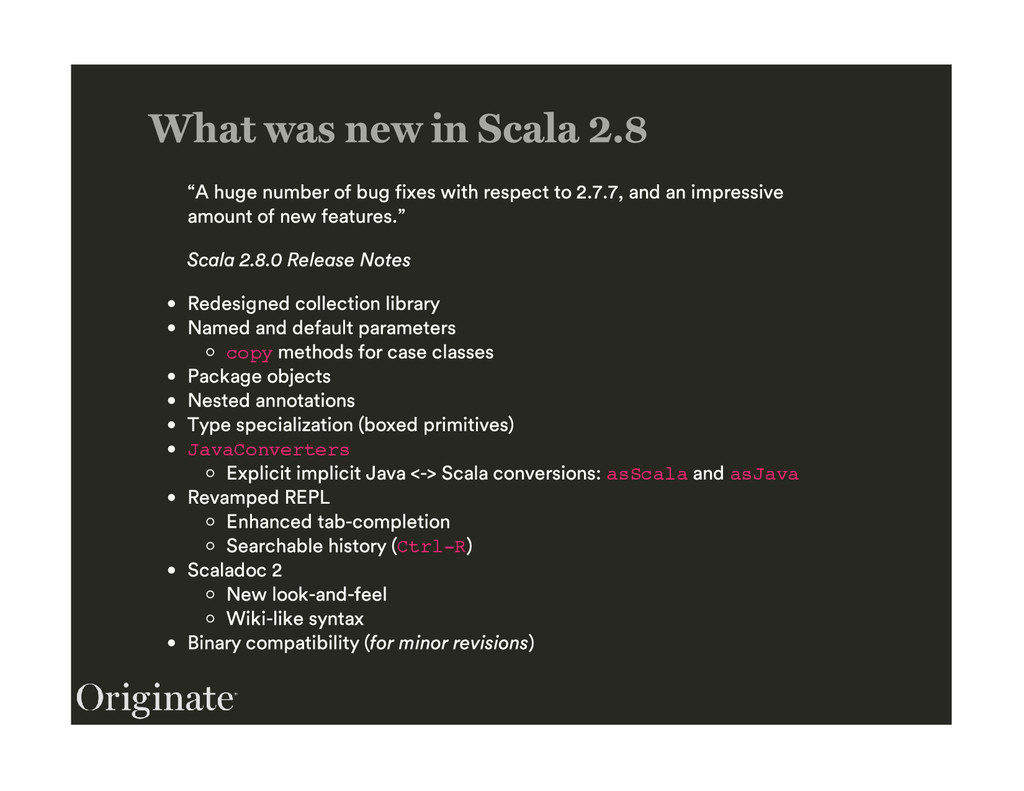 copy JavaConverters asScala asJava Ctrl-R