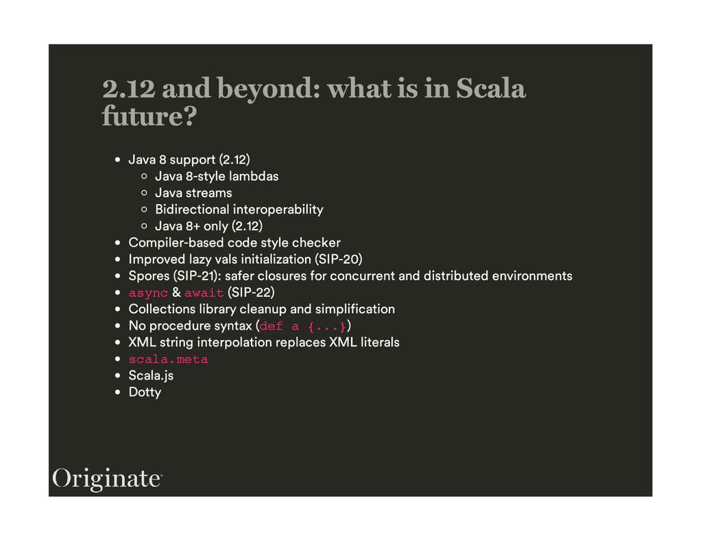 async await def a {...} scala.meta