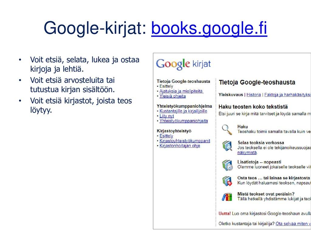 keep.google.com Muistiinpanosovellus, johon saa...