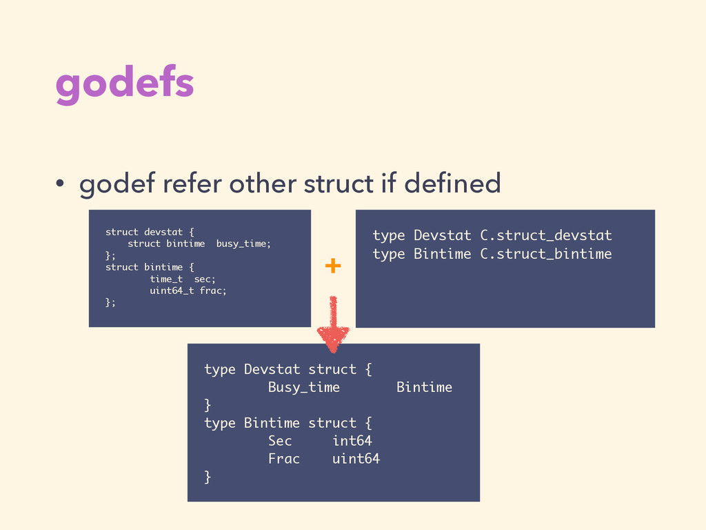 godefs • godef refer other struct if defined typ...
