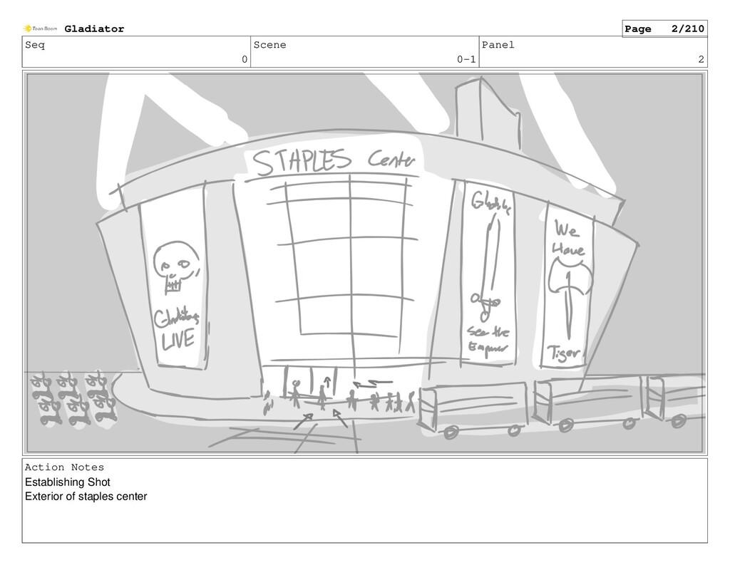 Seq 0 Scene 0-1 Panel 2 Action Notes Establishi...