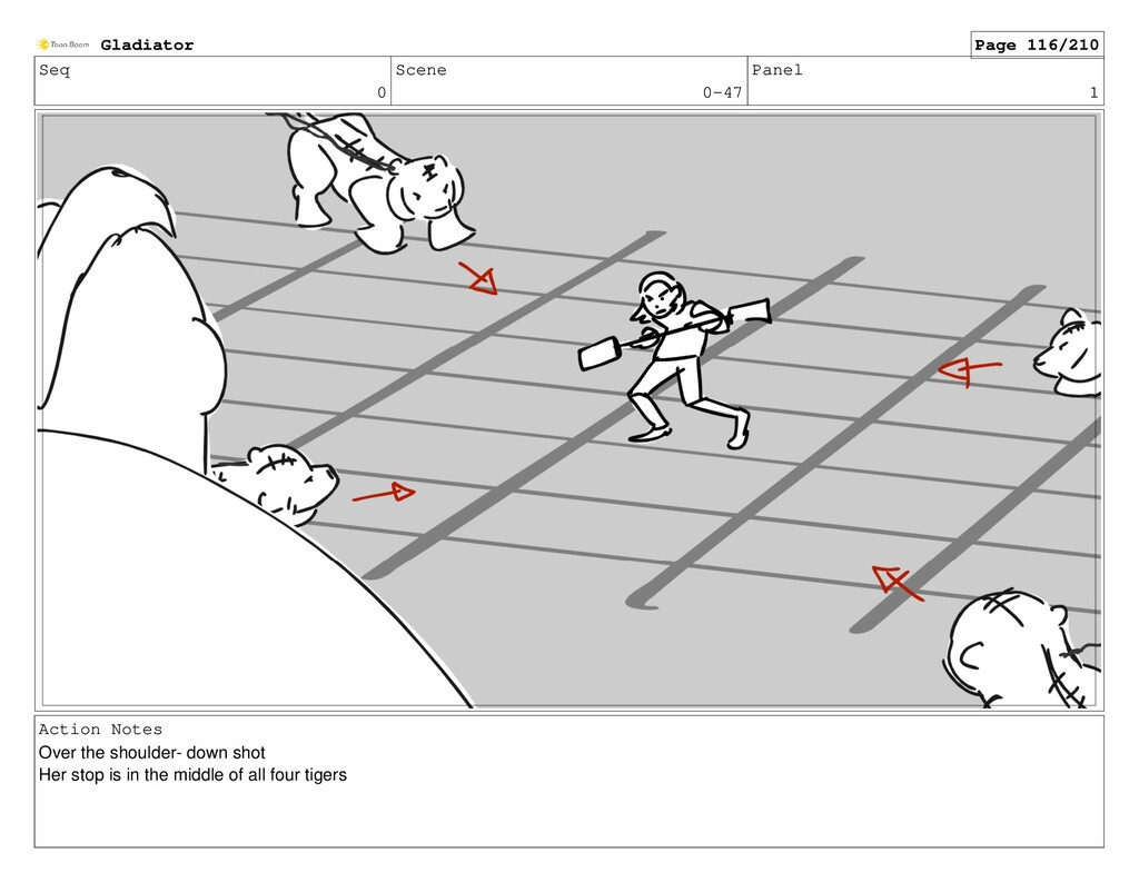 Seq 0 Scene 0-47 Panel 1 Action Notes Over the ...