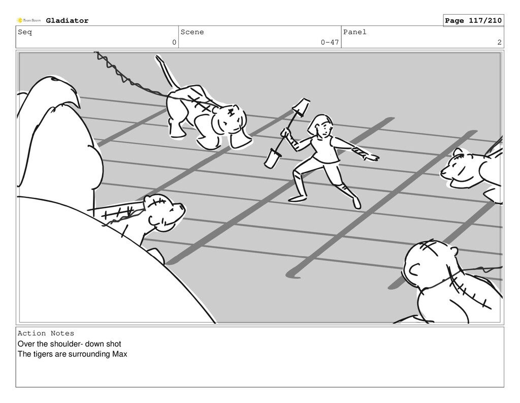 Seq 0 Scene 0-47 Panel 2 Action Notes Over the ...