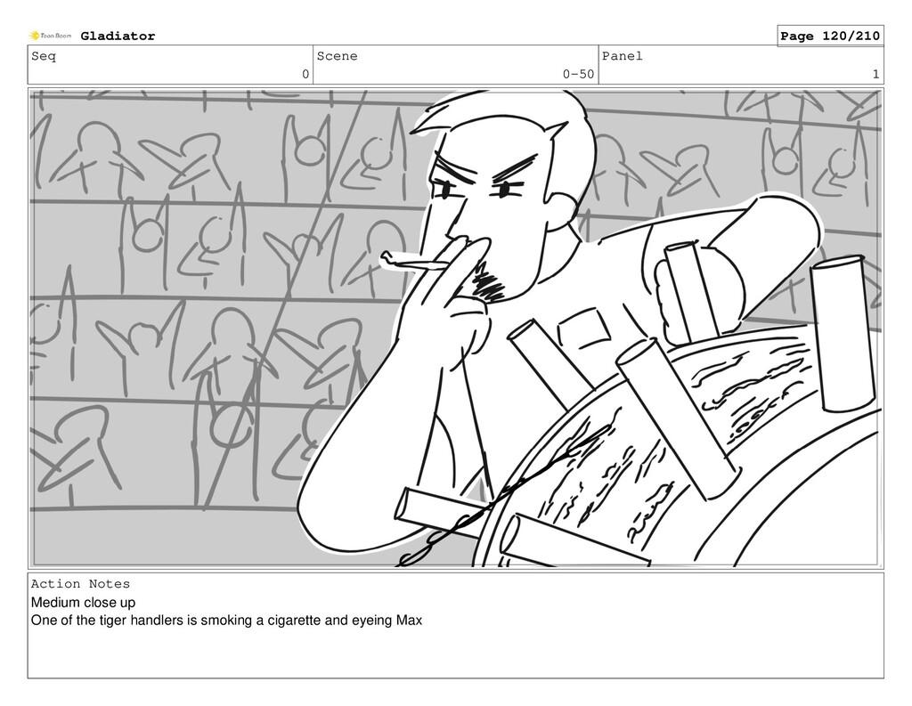 Seq 0 Scene 0-50 Panel 1 Action Notes Medium cl...