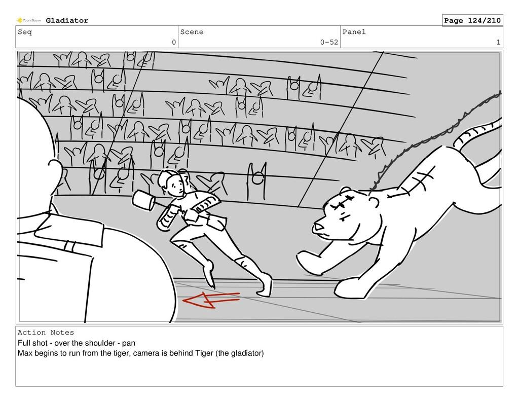 Seq 0 Scene 0-52 Panel 1 Action Notes Full shot...