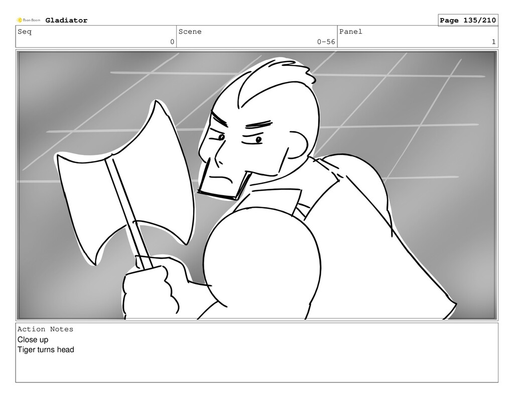 Seq 0 Scene 0-56 Panel 1 Action Notes Close up ...