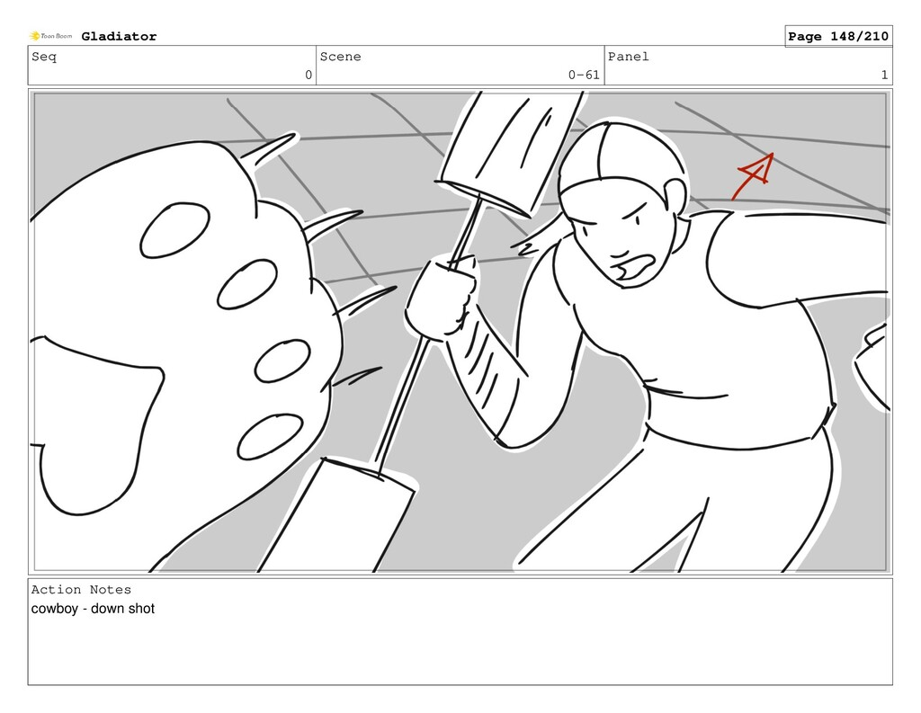 Seq 0 Scene 0-61 Panel 1 Action Notes cowboy - ...