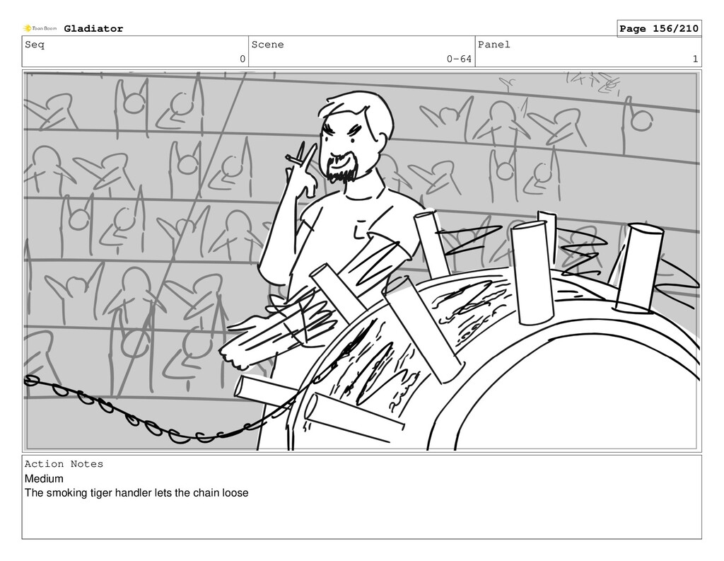 Seq 0 Scene 0-64 Panel 1 Action Notes Medium Th...