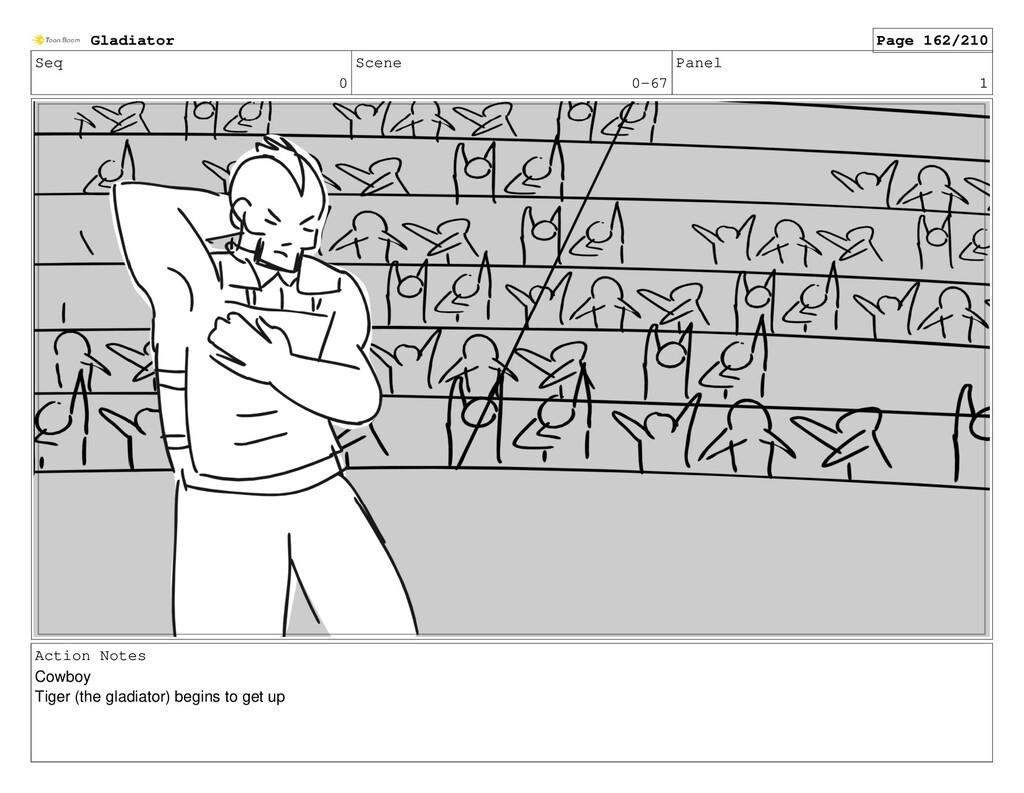 Seq 0 Scene 0-67 Panel 1 Action Notes Cowboy Ti...