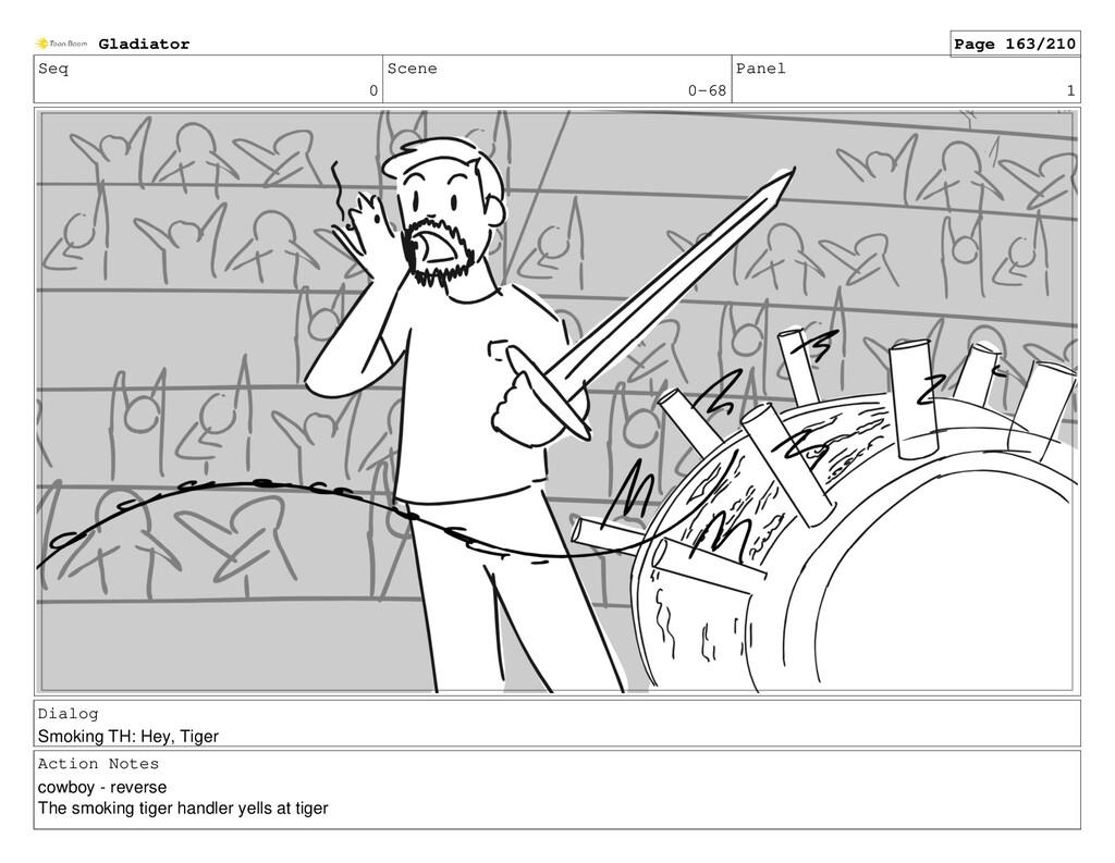 Seq 0 Scene 0-68 Panel 1 Dialog Smoking TH: Hey...