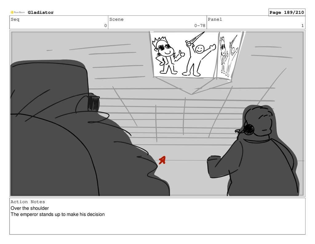 Seq 0 Scene 0-78 Panel 1 Action Notes Over the ...