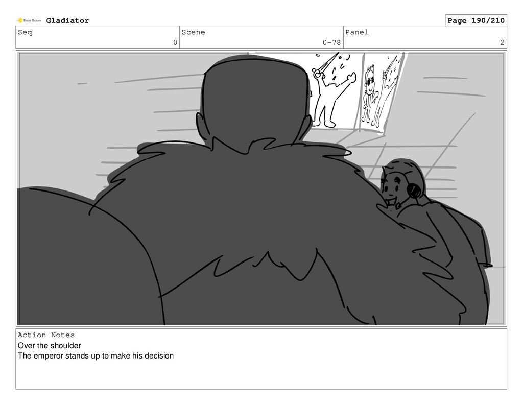 Seq 0 Scene 0-78 Panel 2 Action Notes Over the ...