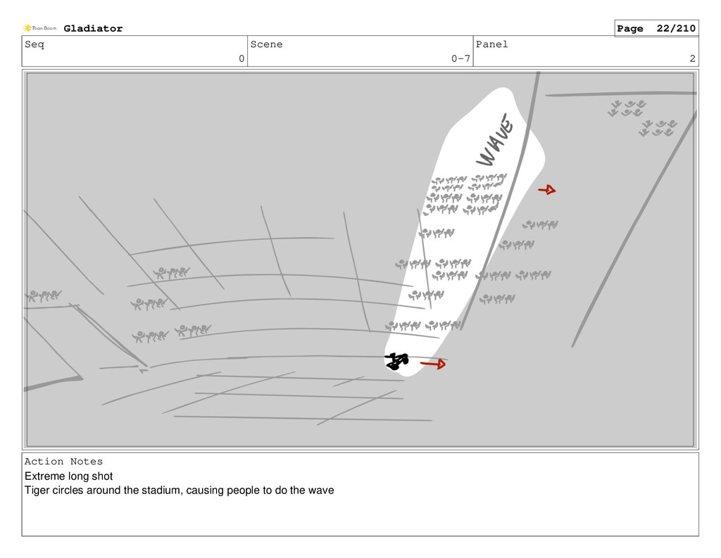 Seq 0 Scene 0-7 Panel 2 Action Notes Extreme lo...