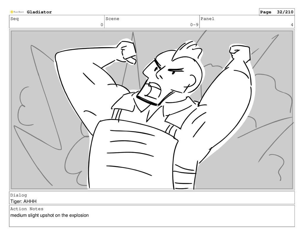 Seq 0 Scene 0-9 Panel 4 Dialog Tiger: AHHH Acti...