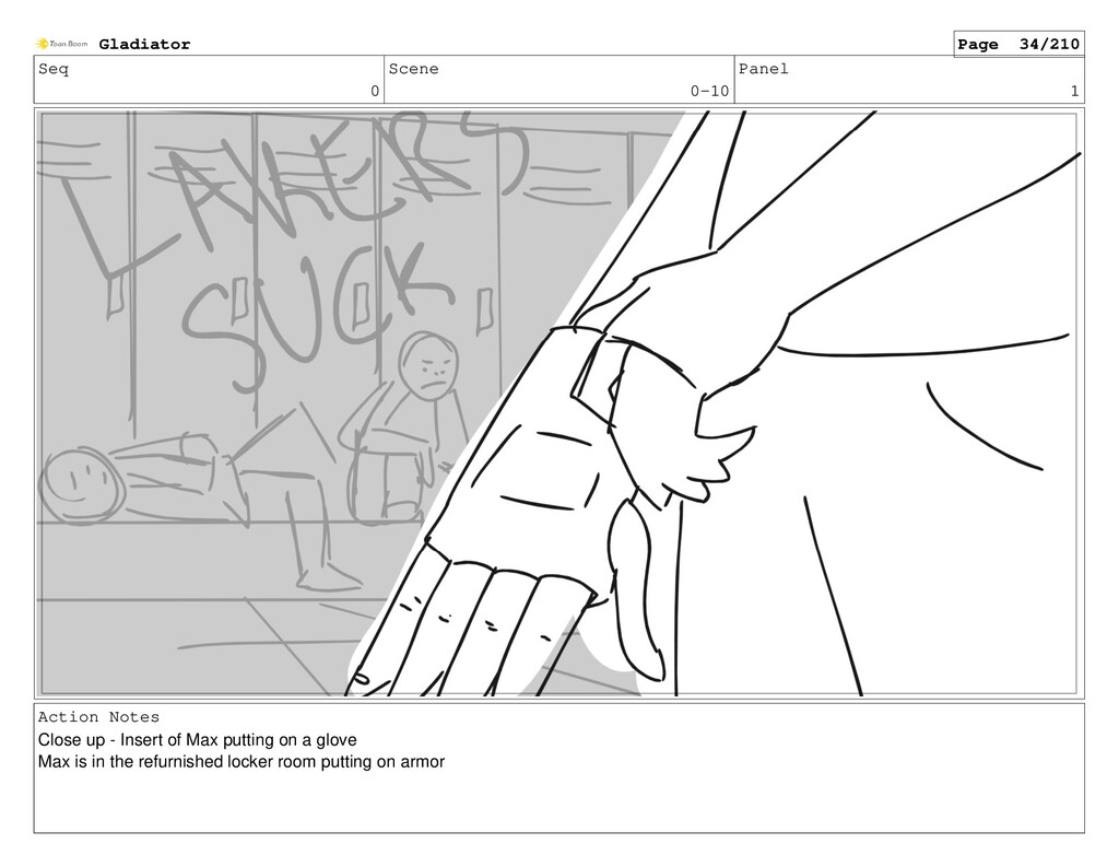 Seq 0 Scene 0-10 Panel 1 Action Notes Close up ...