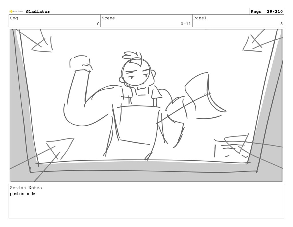 Seq 0 Scene 0-11 Panel 5 Action Notes push in o...