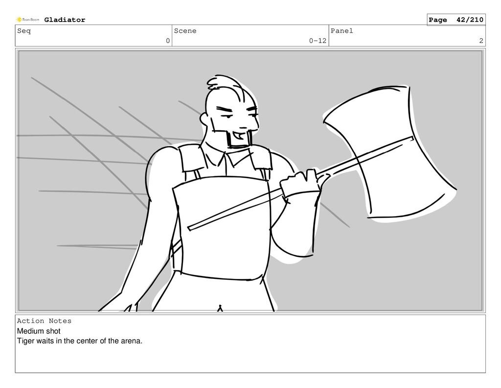 Seq 0 Scene 0-12 Panel 2 Action Notes Medium sh...