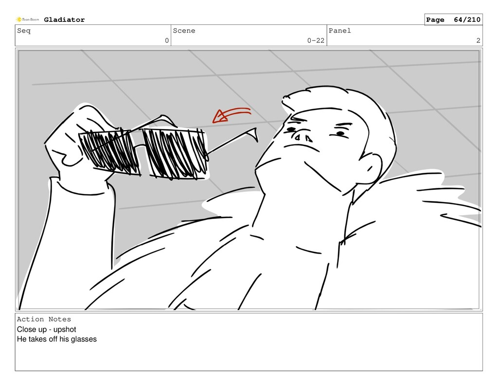 Seq 0 Scene 0-22 Panel 2 Action Notes Close up ...