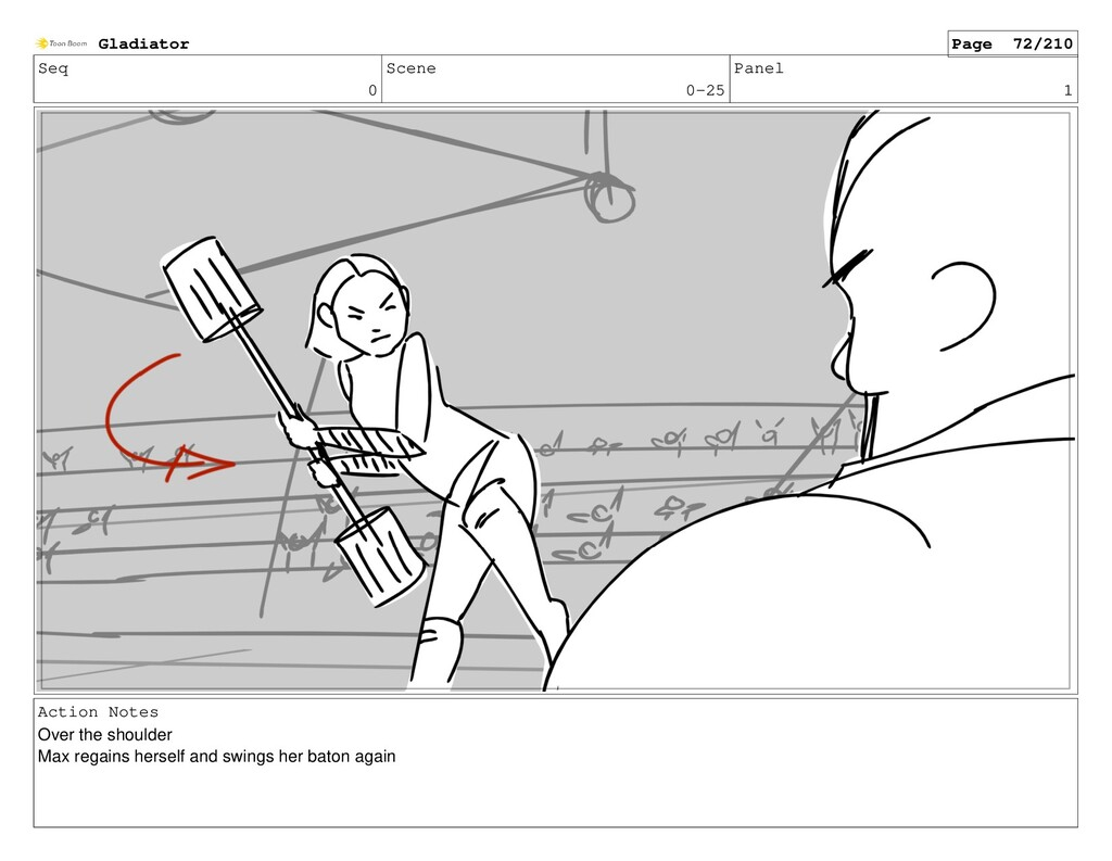 Seq 0 Scene 0-25 Panel 1 Action Notes Over the ...