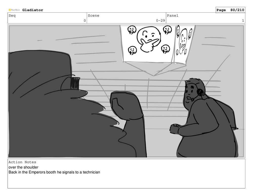 Seq 0 Scene 0-29 Panel 1 Action Notes over the ...