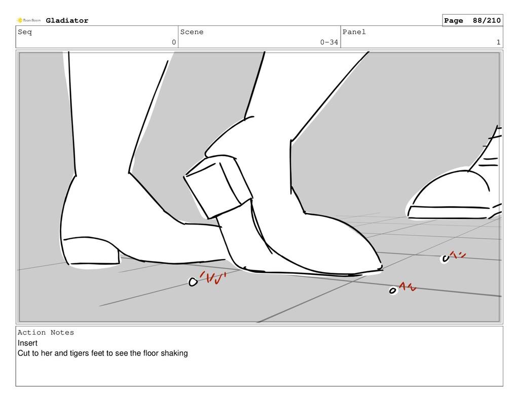 Seq 0 Scene 0-34 Panel 1 Action Notes Insert Cu...
